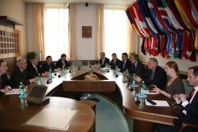 Jednání s ministrem obrany- duben 2014