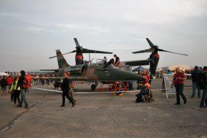 Aero na Dnech NATO tradičně prezentuje své produkty - v roce 2015 zde po...